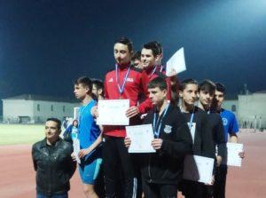 Η ομάδα του 4Χ100 του Πολυνίκη